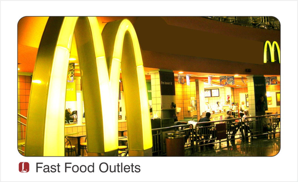 Career Opportunities, Fast Food Outlets