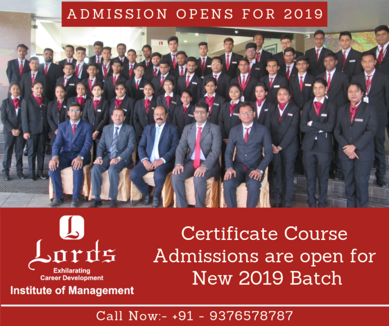 Hotel and Hospitality Management Institute in Surat- Lords Institute of Management