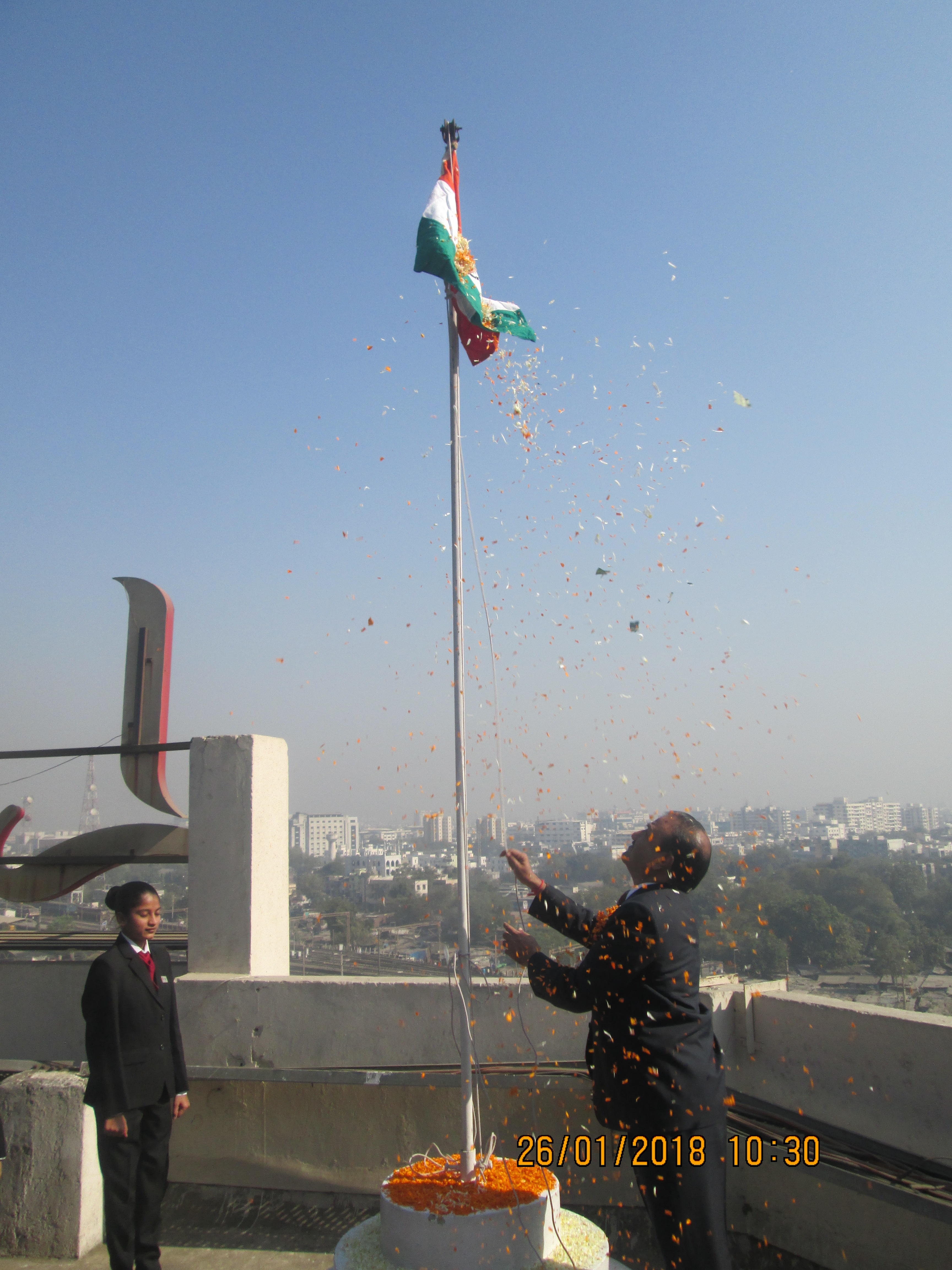Republic Day Celebration  Lords Institute of Management