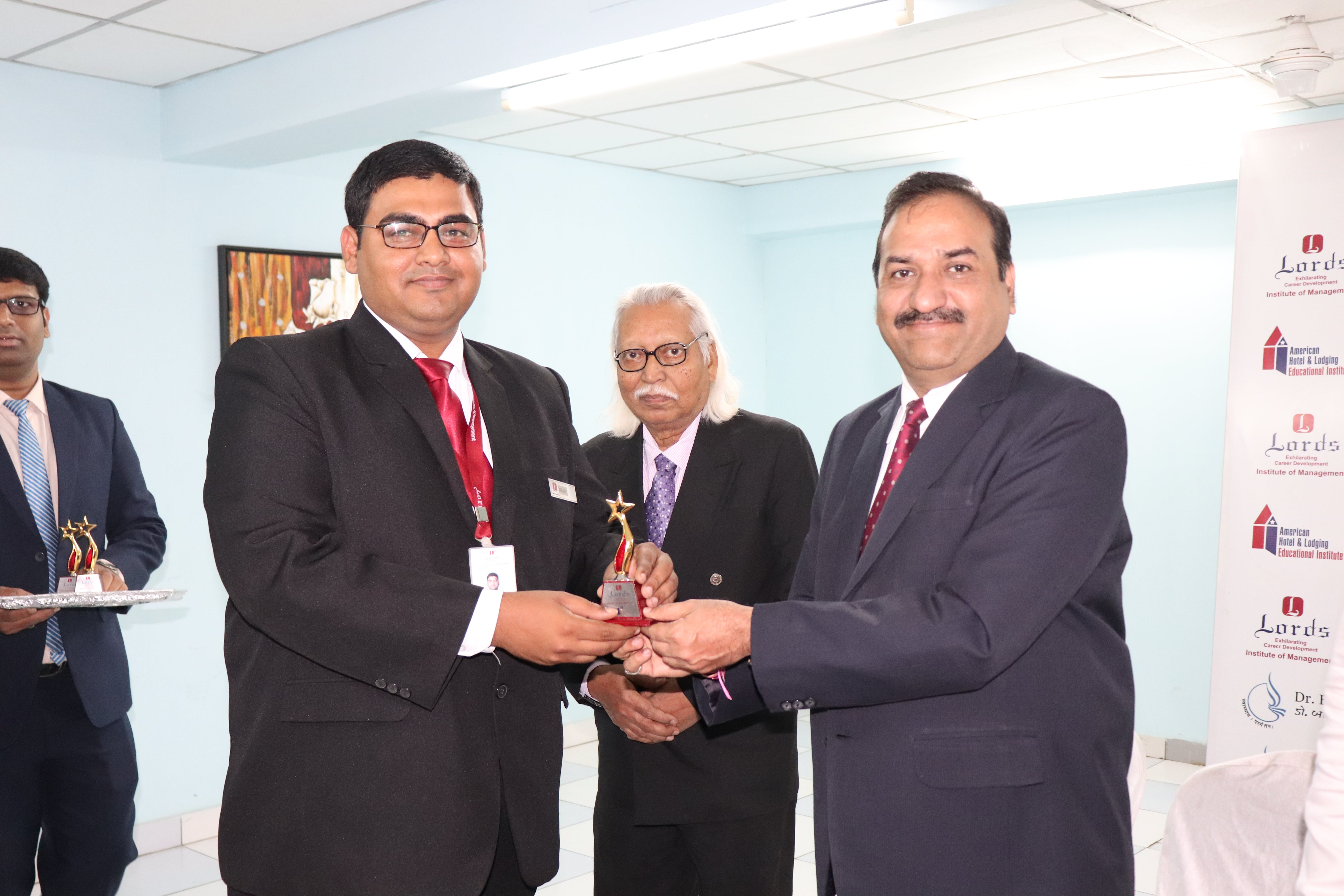Lords Institute of management, Academic Award