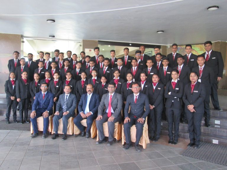 Group Photo of Lords Institute of Management
